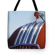 1952 Pontiac Tin Woodie Wagon Hood Ornament Tote Bag