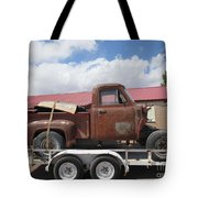 1953 Ford F-100 Truck Tote Bag