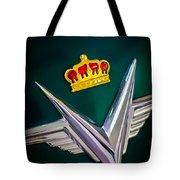 1954 Chrysler Imperial Sedan Hood Ornament Tote Bag
