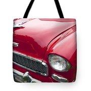 1955 Chevrolet Bel Air Hood Ornament Tote Bag