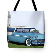 1956 Chevrolet Bel Air Nomad Wagon Tote Bag