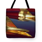 1957 Chevrolet Hood Ornament Tote Bag