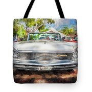 1959 Lincoln Continental Town Car Mk Iv Painted  Tote Bag