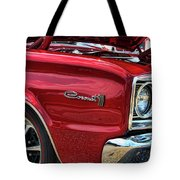 1966 Dodge Coronet 500 426 Hemi Tote Bag