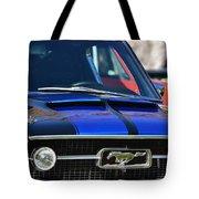 1967 Mustang Fastback Tote Bag