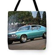 1968 Chevelle Malibu II Tote Bag