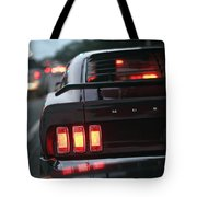 1969 Ford Mustang Mach 1 Tote Bag