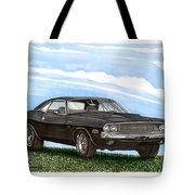 1970 Dodge Challenger Tote Bag