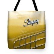 1972 Chevrolet Corvette Stingray Emblem Tote Bag
