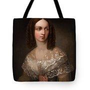 19th Century Russian Artist Portrait Of Countess Aleksandra Vladimirovna Musina-pushkina, 1853 Tote Bag