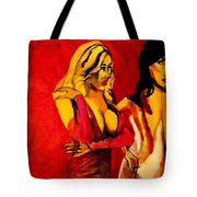 2 Bar Flies Tote Bag