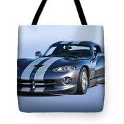 2000 Dodge Viper Vs1 Coupe Tote Bag