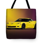 2008 Corvette Z06 Coupe Tote Bag