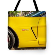 2013 Chevrolet Corvette Zo6 Painted Bw  Tote Bag