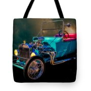 23 T Hot Rod In The Sky Tote Bag