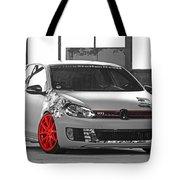 246062 Car Golf Gti Volkswagen Golf Vi Wheels Tote Bag
