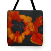 3 Poppies Tote Bag