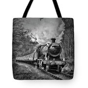 3802 Mince Pie Special On The Llangollen Line. Tote Bag