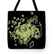 3d Futuristic Bg IIi Tote Bag