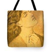 41147 Dante Gabriel Rossetti Tote Bag