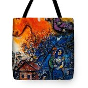 4dpictfdrew3 Marc Chagall Tote Bag