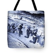 500-feet Level Sulphate Stope Tombstone Consolidated Mine 1904-2013 Tote Bag
