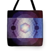 #65 Violet Field Tote Bag