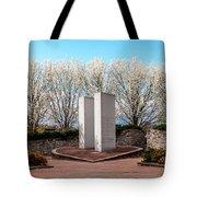 9/11 Memorial Overpeck Park, Leonia Nj  Springtime Memorial For 9
