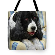 #940 D1031 Farmer Browns Springer Spaniel Tote Bag