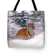 A Blur Of Tiger Tote Bag