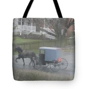 A Buggy Passes By Tote Bag