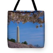A Capital Cherry Blossom I Tote Bag
