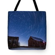 A Cold Winter Night Tote Bag