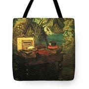 A Corner Of The Studio  Tote Bag