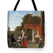 A Dutch Courtyard Tote Bag