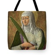 A Female Saint Tote Bag
