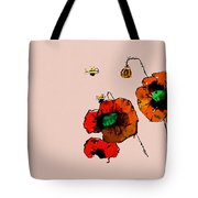 A Few Poppies Tote Bag
