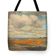 A Field Of California Poppies Tote Bag