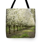 A Flowering Cherry Orchard Tote Bag