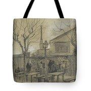 A Guinguette Paris, February - March 1887 Vincent Van Gogh 1853 - 1890 Tote Bag