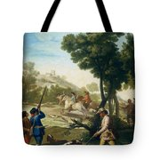 A Hunting Party Tote Bag