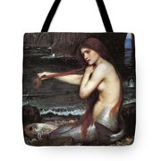 A Mermaid John William Waterhouse Tote Bag