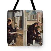 A Miracle Of Saint Benedict Tote Bag