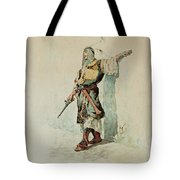 A Moorish Soldier Before A Sunlit Wall Tote Bag