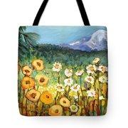 A Mountain View Tote Bag