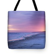 A Night On The Beach Begins Tote Bag