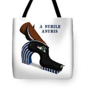 A Nubile Anubis Tote Bag