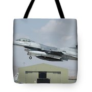 A Pakistan Air Force F-16a Taking Tote Bag