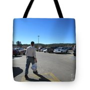 A Parking Area Tote Bag