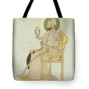 A Portrait Of Muhammad Shah Tote Bag